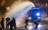 عکس و فیلم| حملات پلیس به معترضان صهیونیست