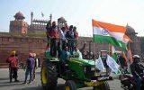 گزارش تصویری|  اعتراض کشاورزان هندی به تصویب قانون اصلاحات کشاورزی