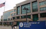 برخورد یک خودرو به ساختمان وزارت امنیت داخلی آمریکا