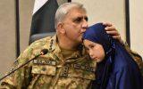 ملاقات فرمانده ستاد ارتش پاکستان با خانواده شهدای هزاره و تکرار وعده انتقام