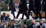 بایدن در اولین یکشنبه ریاست جمهوری به کلیسا و نان فروشی رفت