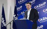 جباراف رئیس جمهوری قرقیزستان شد