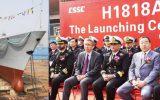ناوچه جنگی ساخت چین به ناوگان نیروی دریایی پاکستان ملحق شد