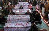 شیعیان پاکستان با خاکسپاری ۱۱ معدنچی، به اعتراضات پایان دادند