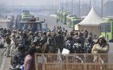 اختلال ترافیکی شدید در هند پس از بسته شدن مسیرها توسط کشاورزان معترض