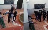 رفتار خشونت آمیز پلیس اسپانیا با کودکان مهاجر جنجال آفرین شد + ویدئو