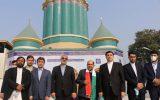 مراسم معنوی افتتاح مسجددر پاکستان باتلاوت دلنشین قاری بین المللی ایران