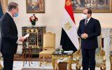 ملاقات وزیر خارجه پاکستان با رئیس جمهور مصر