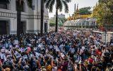 تداوم حملات پلیس میانمار به معترضان در ضمن تلاش آ.سه.آن در قبال این کشور