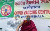 دالایی لاما رهبر معنوی بودائیان برای ترغیب مردم واکسن کرونا زد