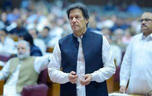 عمرانخان از مجلس پاکستان رای اعتماد گرفت
