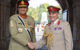 سفر فرمانده ارتش انگلیس به پاکستان