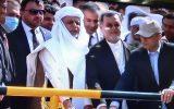 اشرف غنی سد «کمال خان» در مرز ایران را افتتاح کرد