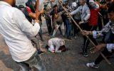 ضرب و شتم نوجوان مسلمان در هند پس از آب خوردن در یک معبد