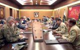 ملاقات فرمانده ارتش پاکستان با نماینده آمریکا در امور صلح افغانستان