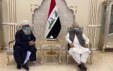 وزیر امور مذهبی پاکستان با رهبران اهل سنت و مقامات عراق دیدار کرد