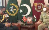 ملاقات فرمانده ارتش پاکستان با سران نظامی سریلانکا و بحرین