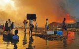 روزهای غمبار مسلمانان روهینگیا؛ جانباختن چند نفر و تخریب هزاران سرپناه در بنگلادش