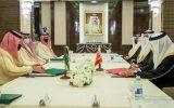 اولین نشست همکاری امنیتی و نظامی عربستان و بحرین برگزار شد