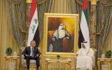 نخست وزیر عراق با ولیعهد ابوظبی دیدار و گفتگو کرد