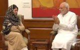 محبوبه مفتی: وحدت مردم کشمیر علیه سیاست های دولت هند نباید از بین برود
