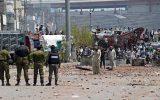 درگیری معترضان و پلیس در بغداد دو کشته و ۴۵ زخمی بر جا گذاشت