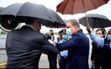 وزیر خارجه روسیه با استقبال همتای پاکستانی خود وارد اسلام آباد شد