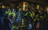 سومین شب اعتراضات در مینیاپولیس؛ استعفای رئیس پلیس و مامور خاطی