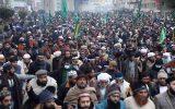 تحصن حزب مذهبی پاکستانی در خیابان ها با هدف اخراج سفیر فرانسه از اسلام آباد