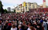 تجمع هزاران نفر در اسلوونی برای انتخابات زودهنگام