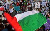 فریاد هزاران نفر در لندن؛ اسرائیل تروریست است