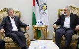 وحدت ملی فلسیطن؛ محور دیدار هنیه و النخاله در قاهره