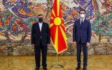 همواره اراده ایران و مقدونیه شمالی توسعه روابط دوجانبه بوده است