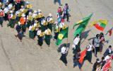 دانش آموزان و معلمان میانماری از حضور در مدارس خودداری کردند