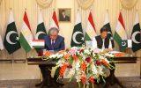 پاکستان و تاجیکستان ۱۲ معاهده همکاری را به امضا رساندند
